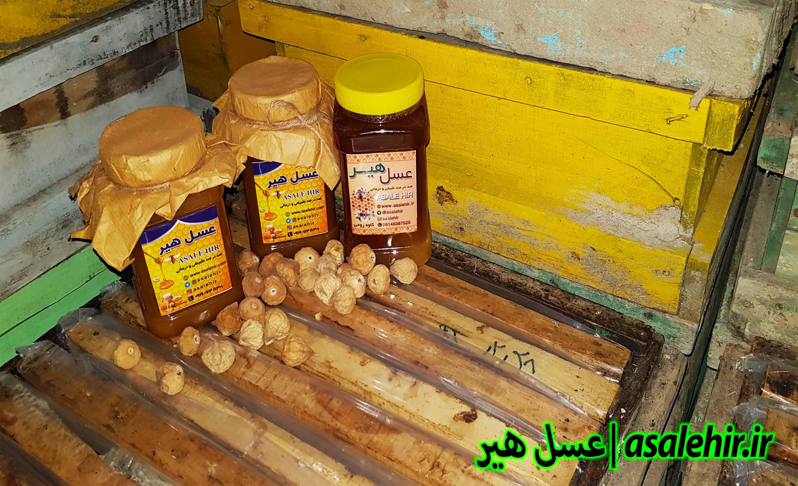 عسل طبیعی و انجیر